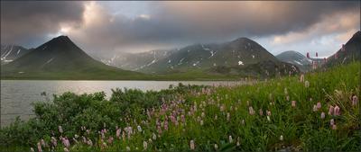 Летний вечер на Хадате Урал  Хадата