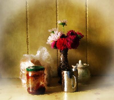 Цветы к чаю. чай цветы завтрак утро