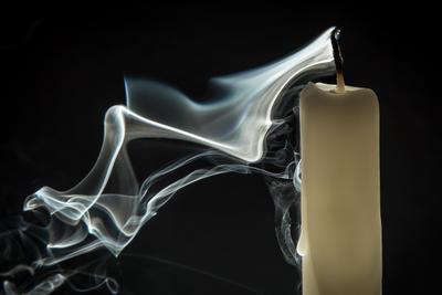 *** макро жанр macro искусство фотограф smoke свеча дым