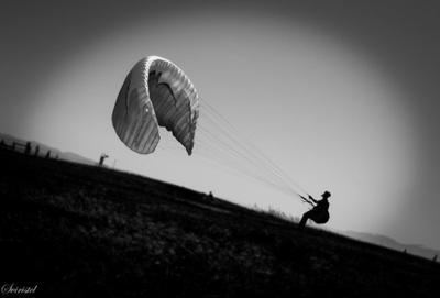 А он, мятежный, просит бури параплан, ветер, полет