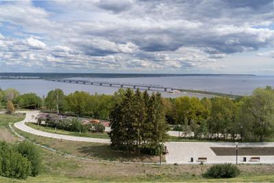 р.Волга, Ульяновск.