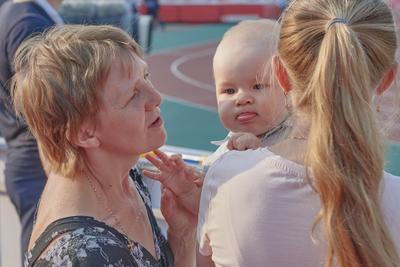 Агуша (2) Бабушка мама дитя
