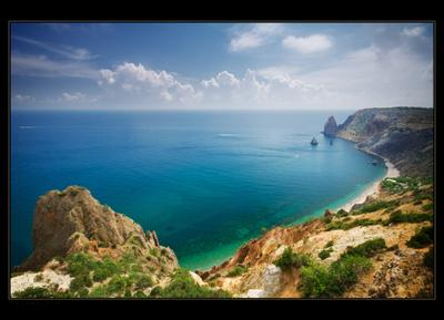 Фиолент Крым Фиолент Море небо