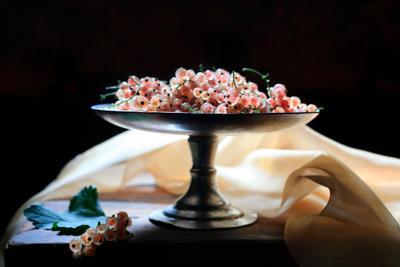 Смородина в розовом Смородина ягоды розовый