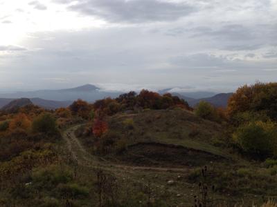 Выше облаков Грузия горы дорога