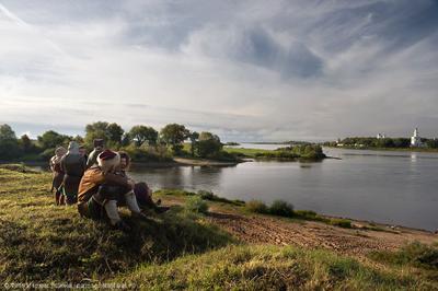 В истоке Волхова Великий Новгород Волхов Юрьев Монастырь