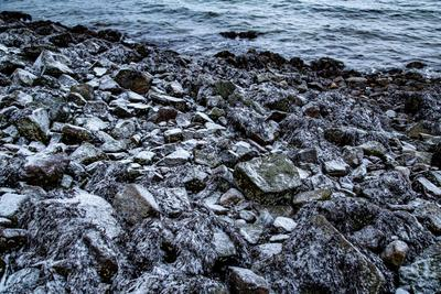 Камни Териберки Териберка пляж море камни