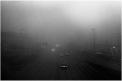 Городской туман туман