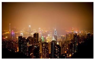 The peak of Honkong