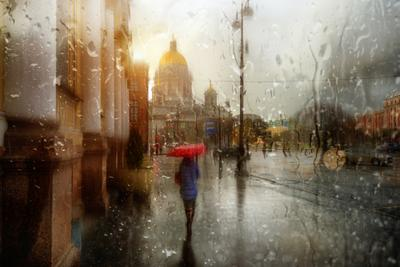 майский дождь...