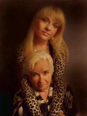 Бабушка бабушка,внучка,портрет,фото сергей сиденко