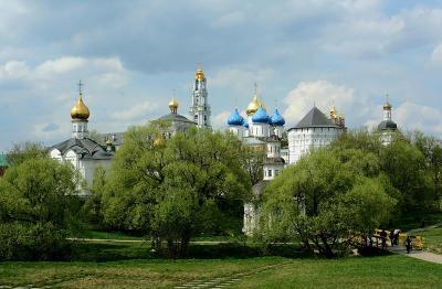 *** Троице-Сергиева лавра Сергиев Посад монастырь