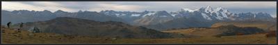 Один эпизод из жизни фотографов Казахстан Алтай Белуха горы фотографы осень панорама