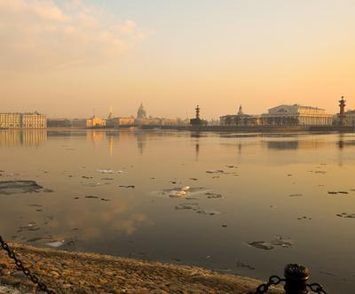 Весенняя... нева река санкт петербург александр алексеев питер весенняя