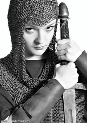 *** амазонка девушка воин проект антианира ома