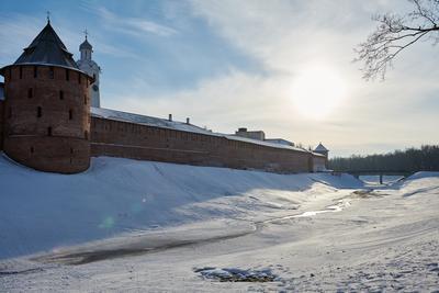 Утро в Новгороде