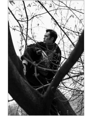 Осень dr_insomnia dianarybakova чбфото портрет москва
