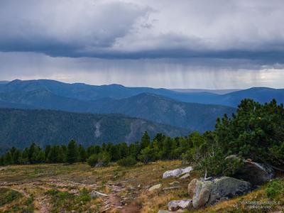 *** дождь фото грозовые фотографии в горах