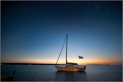 en garde ночь яхта звезды Большая медведица Полярная звезда Обское море Стыврин Андрей
