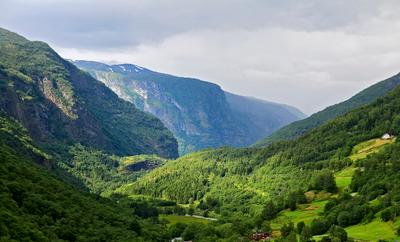 Домики для норвежцев Край потрясающей красоты