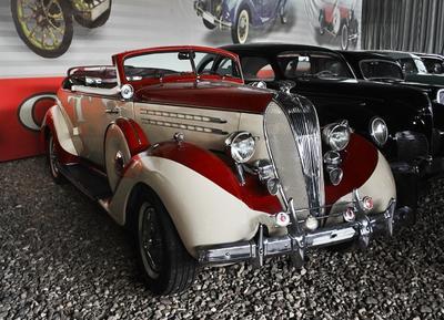 Hudson Eigth 1936 музей ретро-автомобилей