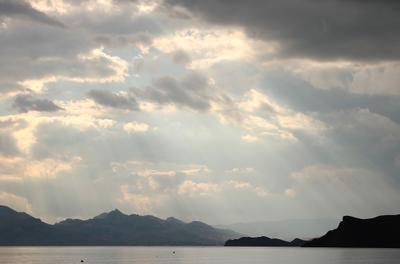 черное море и горы море горы