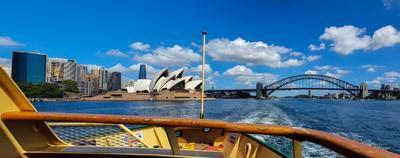 Два символа Сиднея... Сидней Австралия