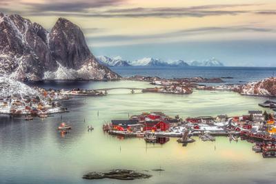 Из жизни Лофотен Лофотены Норвегия Рейне Lofoten islands