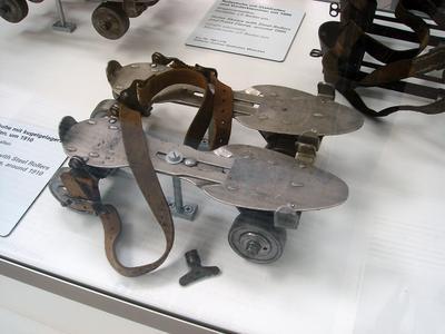 Стальные коньки на подшипниках (1910)