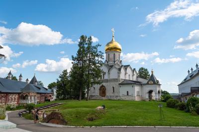 Саввино-Сторожевский монастырь Храм Собор Церковь