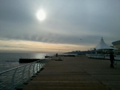 Зимнее утро в Одессе