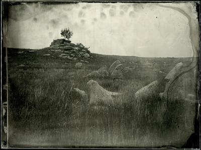 Анхобайские легенды амбротип мокрый коллодий большой формат пейзаж