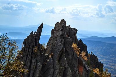 """Национальный парк Таганай, скала """"Скалодром"""""""