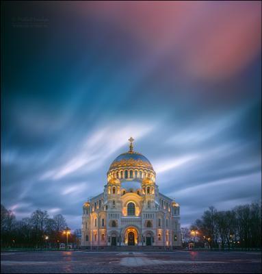 Морской собор святителя Николая Чудотворца Россия Кронштадт собор