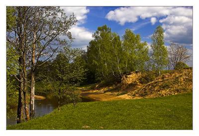 Весенний поворот Весна поворот река