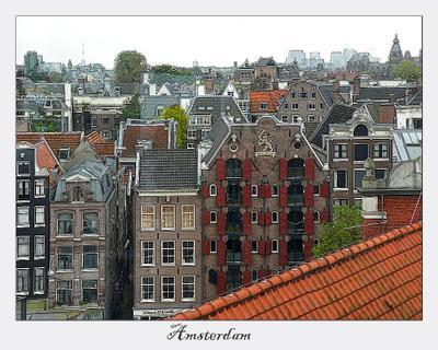 Там, где живет Карлсон (2) Крыша, Карлсон, Амстердам, Голландия, Нидерланды