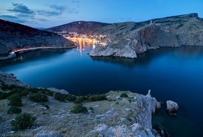 Балаклавская бухта Крым Балаклава горы пейзаж природа закат рассвет Украина Россия море скалы бухта