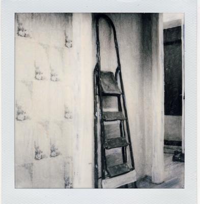 Ladder №1 Polaroid стремянка манипуляции
