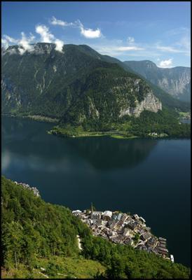 *** Австрия Гальштат Hallstatt Гальштатское озеро