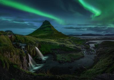 *** Kirkjufell Исландия