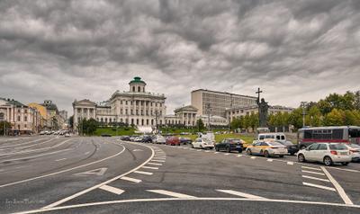 Москва, Бородинская площадь