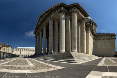 Panthéon (Paris) Paris France Panthéon chef-lieu capital city Париж Франция столица город lateonomen