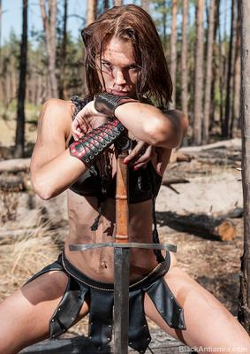 амазонка девушка воин амазонка