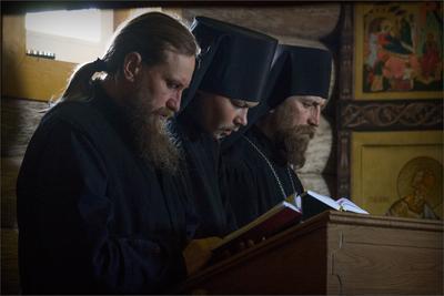 *** Палеостровский монастырь монашество монахи служба