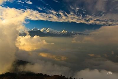 Ганеш Химал горы, Непал, Гималаи
