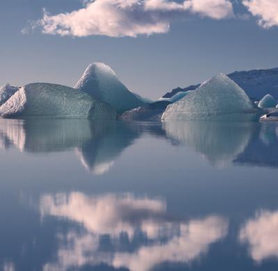 Льды и Айсберги Исландии...