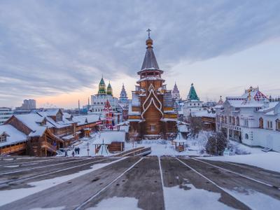 Храм Святителя Николая в Измайлово Измайловский Кремль Храм Святителя Николая в Измайлово