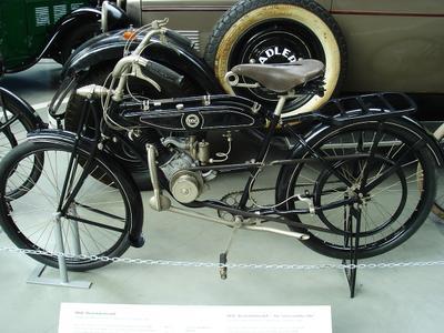 «Кроссовый» мотовелосипед DKW (1922) мотовелосипед dkw