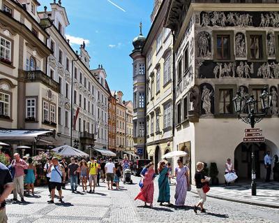 Пражский колорит Чехия Прага