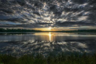 / Подмосковные вечера / пейзаж весна подмосковье чехов красиво природа закат вечер